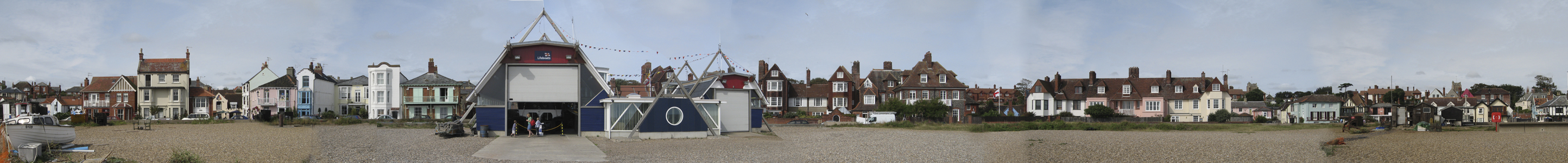Aldeburgh Seafront and Lifeboat Station