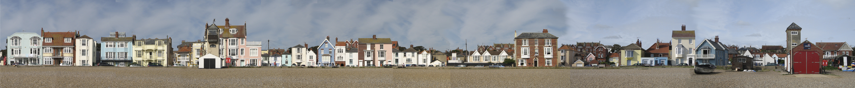 Aldeburgh Sea Front the Old Lookout
