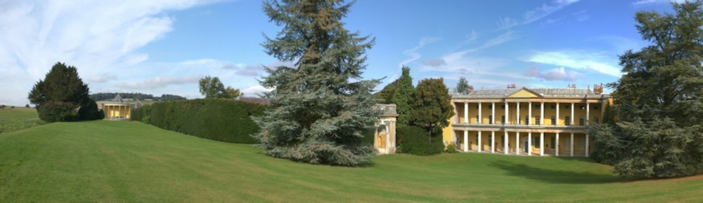 West Wycombe Park & Round Temple